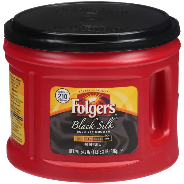 Folgers® Black Silk Canister
