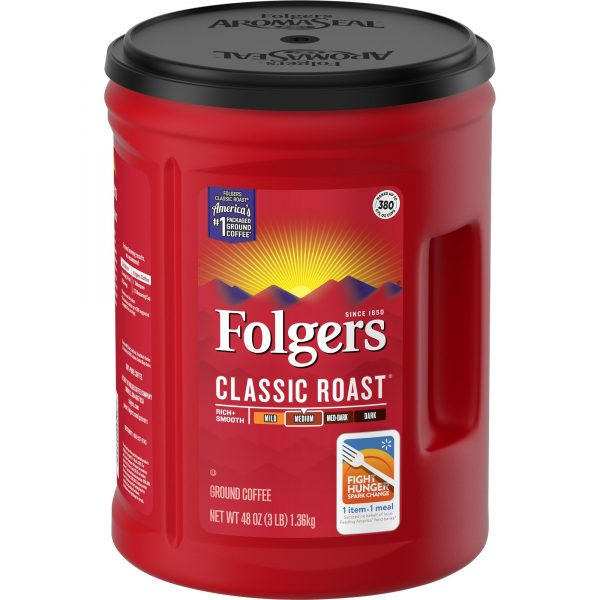 Folgers® Classic Roast Canister